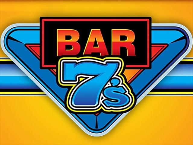Bar 7's — популярный игровой автомат для азартных гостей