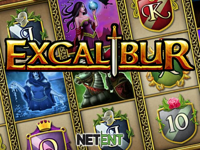 Онлайн игровой аппарат Excalibur