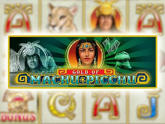 Игровой аппарат Machupicchu – отыщите сокровища инков в клубе Вулкан