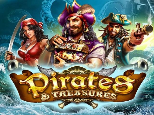Игровой автомат Pirates Treasures в клубе Вулкан без регистрации