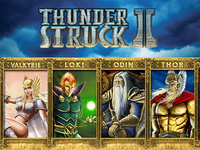 Игровой автомат Thunderstruck II: Вулкан официальный сайт